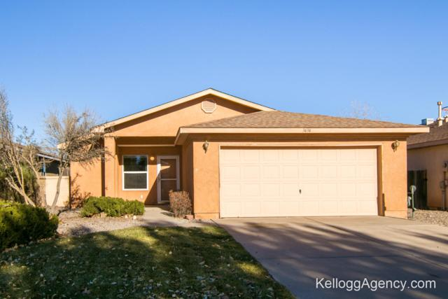 3434 Fowler Meadows Drive NE, Rio Rancho, NM 87144 (MLS #932845) :: The Bigelow Team / Realty One of New Mexico