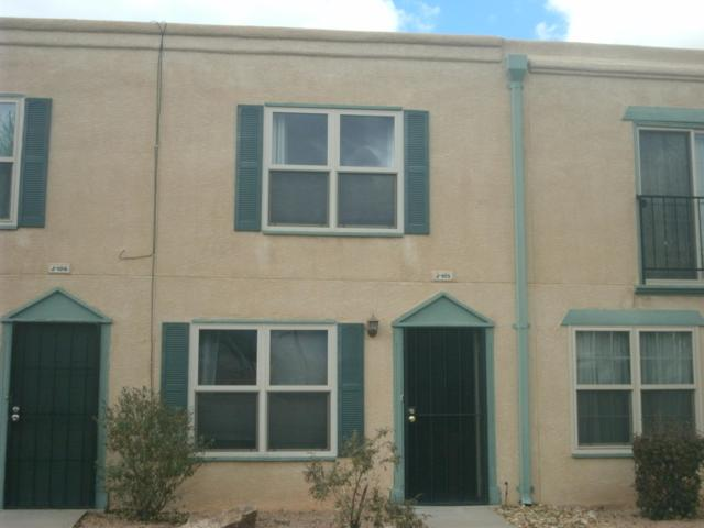 3301 Monroe Street NE J105, Albuquerque, NM 87110 (MLS #933391) :: Campbell & Campbell Real Estate Services