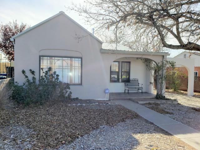 1216 Tijeras Avenue NE, Albuquerque, NM 87106 (MLS #933513) :: Campbell & Campbell Real Estate Services