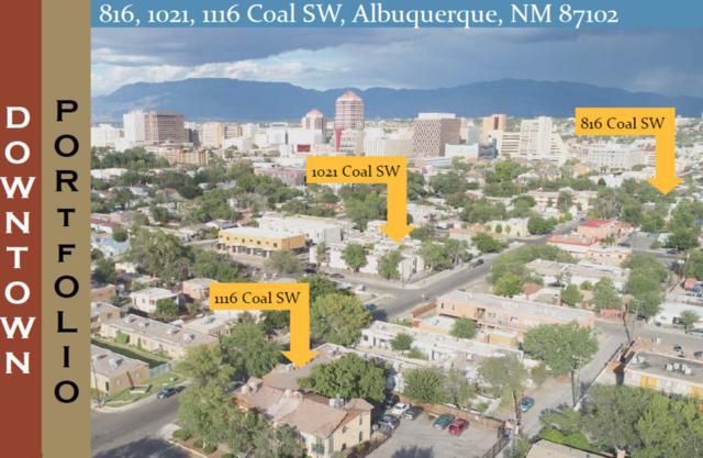 1021 Coal Avenue, Albuquerque, NM 87102 (MLS #933862) :: The Stratmoen & Mesch Team