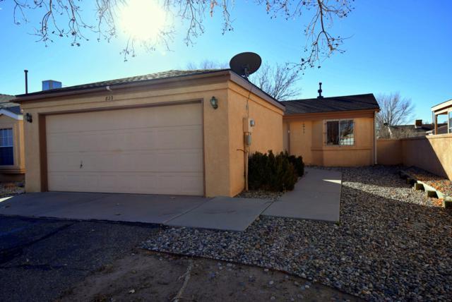 823 Rebecca Loop, Rio Rancho, NM 87144 (MLS #934136) :: The Stratmoen & Mesch Team