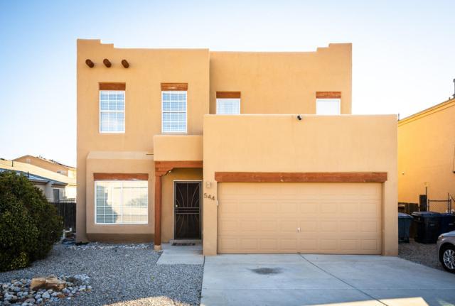 544 Whispering Street SW, Albuquerque, NM 87121 (MLS #934793) :: The Stratmoen & Mesch Team