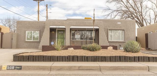 508 Jefferson Street SE, Albuquerque, NM 87108 (MLS #935638) :: Campbell & Campbell Real Estate Services
