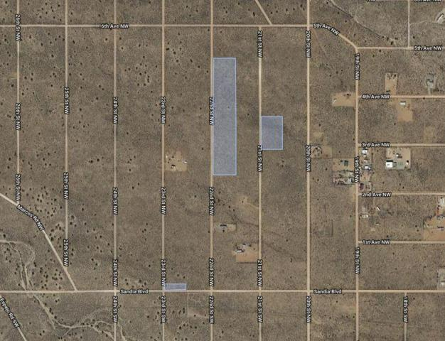 Block Of 24 Lots in Unit 5, Rio Rancho, NM 87124 (MLS #935913) :: The Bigelow Team / Realty One of New Mexico