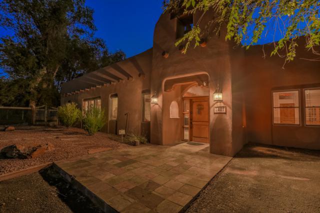 407 La Entrada, Corrales, NM 87048 (MLS #936181) :: Campbell & Campbell Real Estate Services
