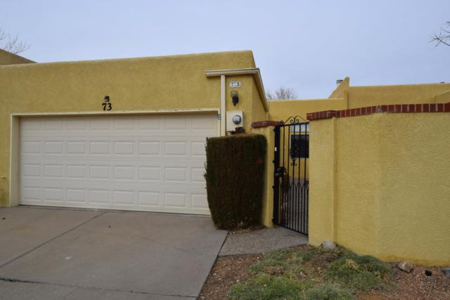12800 Comanche Road NE Unit 73, Albuquerque, NM 87111 (MLS #936200) :: The Bigelow Team / Realty One of New Mexico