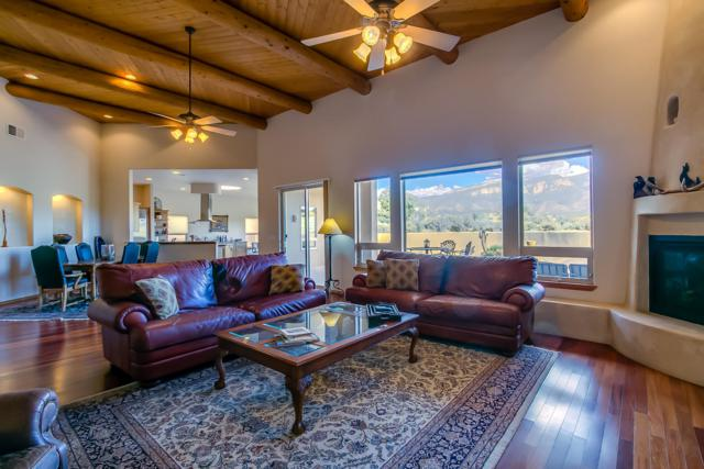 43 Sky Mountain Road, Placitas, NM 87043 (MLS #938200) :: Campbell & Campbell Real Estate Services