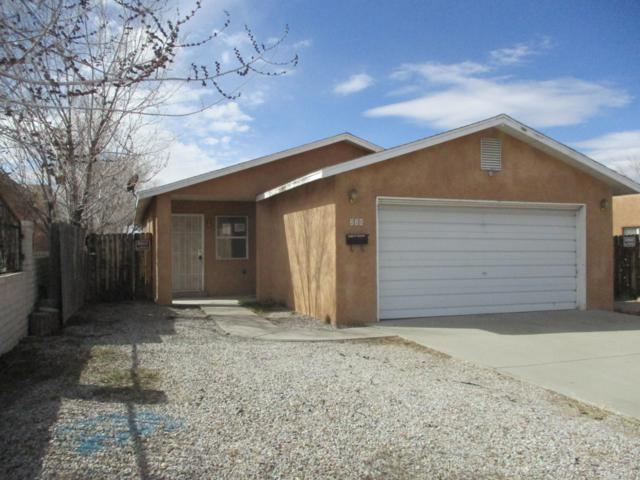 225 Chama Street NE, Albuquerque, NM 87108 (MLS #938319) :: Campbell & Campbell Real Estate Services