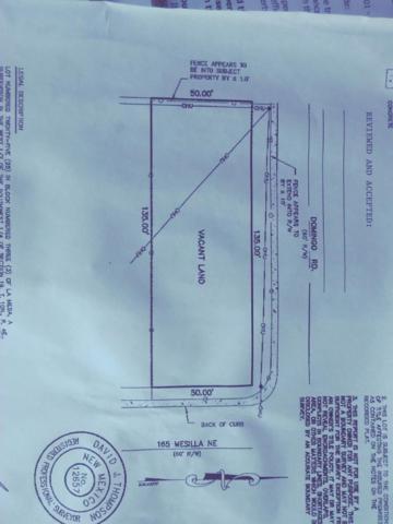 165 Mesilla Street NE, Albuquerque, NM 87108 (MLS #939176) :: Silesha & Company