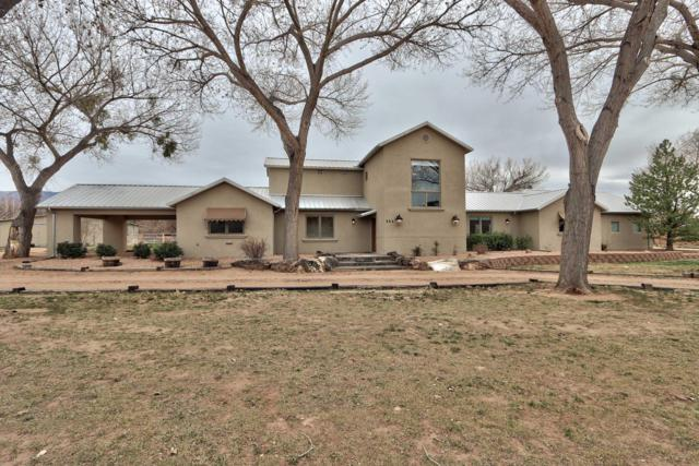 322 Camino Corrales Del Norte, Corrales, NM 87048 (MLS #939377) :: The Bigelow Team / Realty One of New Mexico