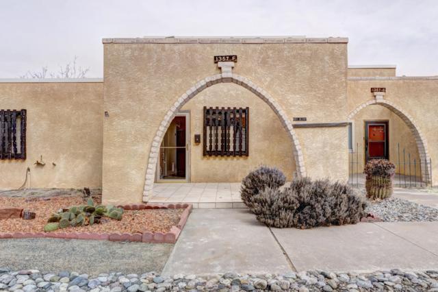 1357 Rio Rancho Drive SE Apt F, Rio Rancho, NM 87124 (MLS #939669) :: Campbell & Campbell Real Estate Services