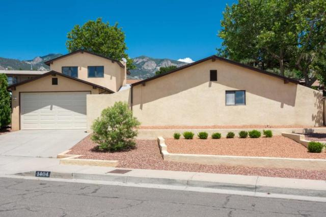 1404 Stutz Drive NE, Albuquerque, NM 87112 (MLS #939696) :: The Bigelow Team / Realty One of New Mexico