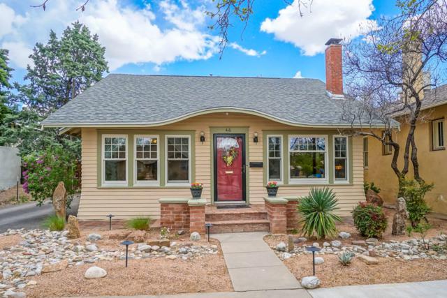 416 13Th Street NW, Albuquerque, NM 87102 (MLS #941849) :: Silesha & Company