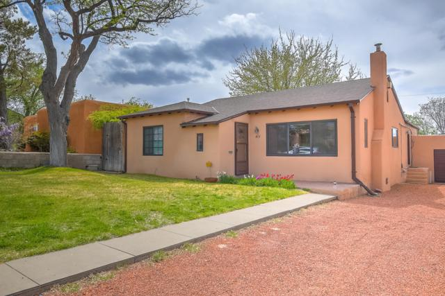413 Wellesley Drive SE, Albuquerque, NM 87106 (MLS #942431) :: Campbell & Campbell Real Estate Services
