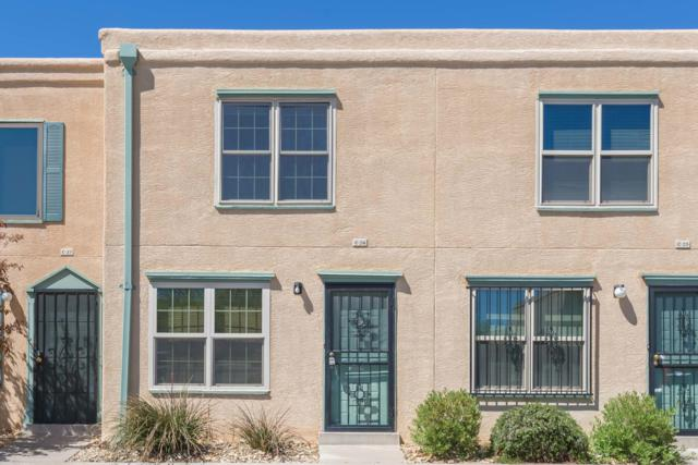 3301 Monroe Street Unit C26, Albuquerque, NM 87110 (MLS #942943) :: Campbell & Campbell Real Estate Services