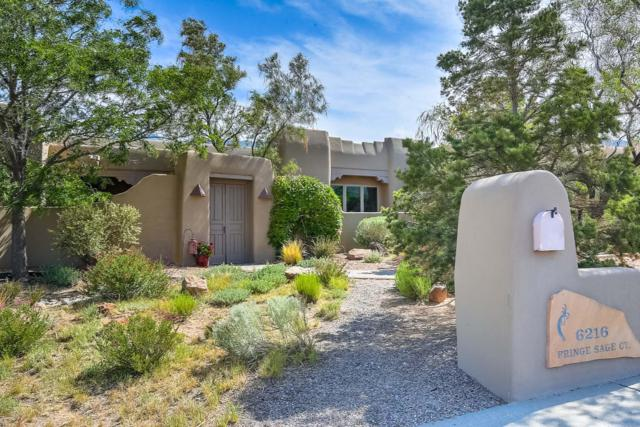 6216 Fringe Sage Court NE, Albuquerque, NM 87111 (MLS #943034) :: The Bigelow Team / Realty One of New Mexico