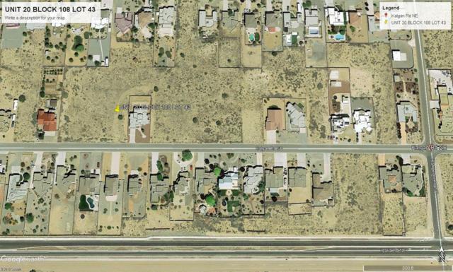 6601 Kalgan Road NE, Rio Rancho, NM 87144 (MLS #943411) :: The Bigelow Team / Realty One of New Mexico