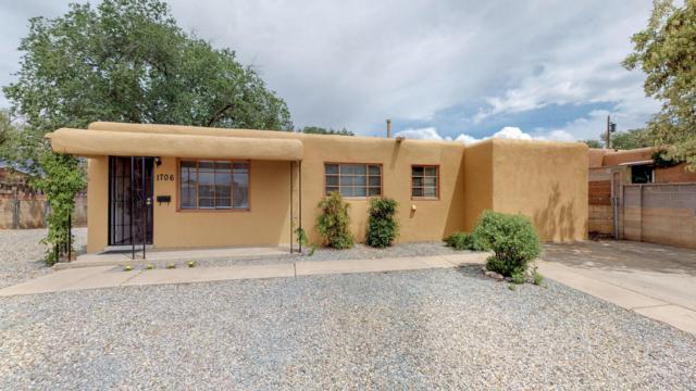 1706 Wisconsin Street NE, Albuquerque, NM 87110 (MLS #943418) :: The Bigelow Team / Red Fox Realty