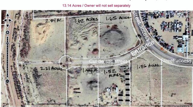 000 13.14 Acres Zoned M-1  Coso Court SE, Albuquerque, NM 87105 (MLS #944886) :: Campbell & Campbell Real Estate Services