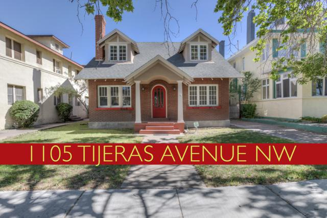 1105 Tijeras Avenue NW, Albuquerque, NM 87102 (MLS #945404) :: Campbell & Campbell Real Estate Services