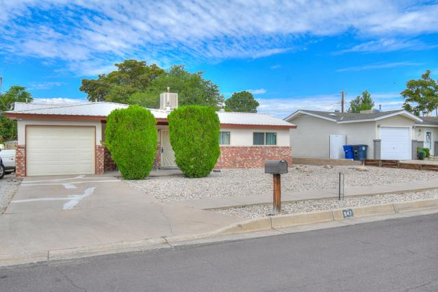 547 Sandler Drive NE, Albuquerque, NM 87123 (MLS #949707) :: Campbell & Campbell Real Estate Services
