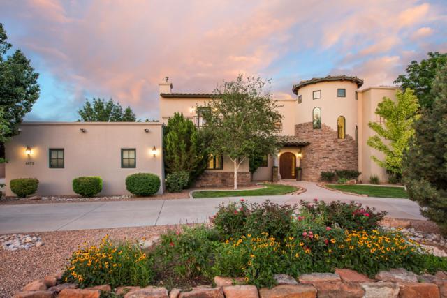 4673 Los Poblanos Circle NW, Los Ranchos, NM 87107 (MLS #949743) :: Silesha & Company