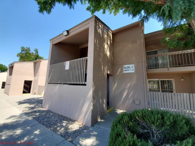 4601 Carlisle Boulevard NE C5, Albuquerque, NM 87109 (MLS #950555) :: The Bigelow Team / Red Fox Realty