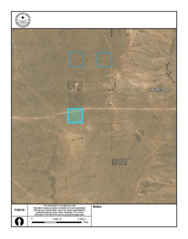 Off Pajarito (Bw #2) Road SW, Albuquerque, NM 87121 (MLS #950803) :: The Bigelow Team / Red Fox Realty