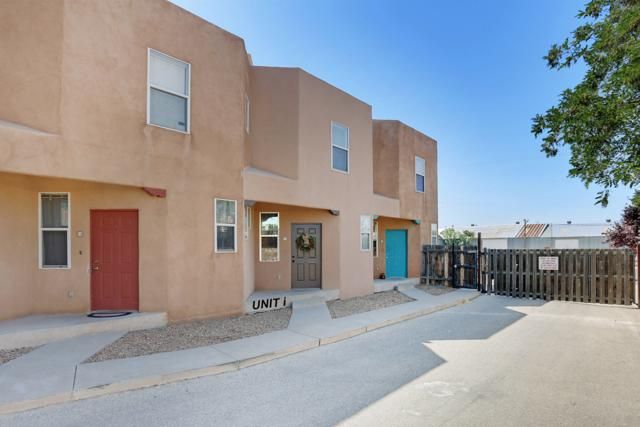 615 Menaul Boulevard NW Unit I, Albuquerque, NM 87107 (MLS #951413) :: The Bigelow Team / Red Fox Realty