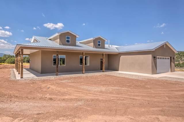 284 Frost Road, Sandia Park, NM 87047 (MLS #953814) :: The Bigelow Team / Red Fox Realty
