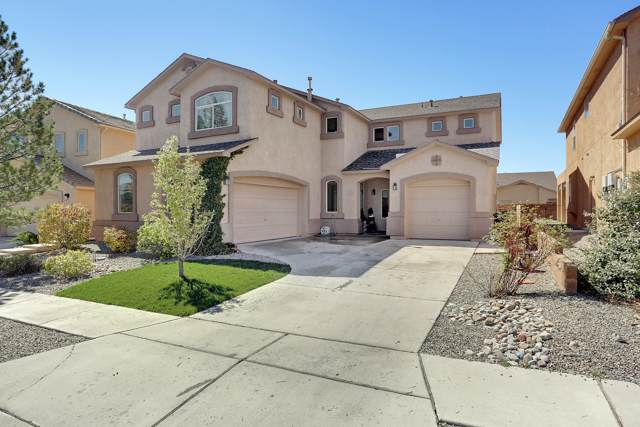 8104 Pony Hills Place NW, Albuquerque, NM 87114 (MLS #954263) :: Silesha & Company