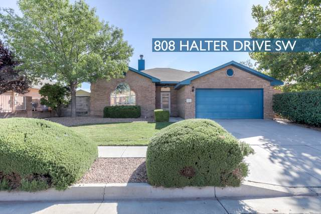 808 Halter Drive SW, Albuquerque, NM 87121 (MLS #954340) :: Campbell & Campbell Real Estate Services