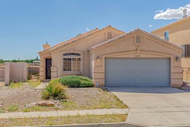 6012 Taurus Avenue NW, Albuquerque, NM 87114 (MLS #954423) :: Silesha & Company