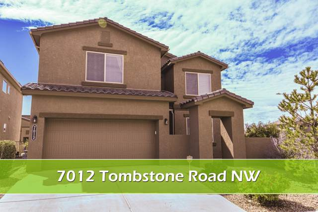 7012 Tombstone Road NW, Albuquerque, NM 87114 (MLS #954617) :: The Bigelow Team / Red Fox Realty