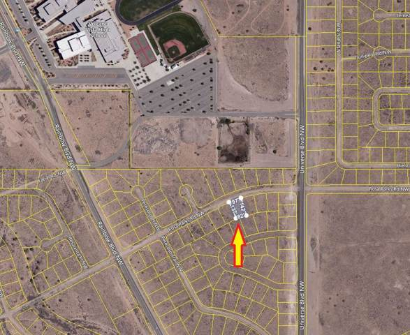 Rosa Parks Road NW, Albuquerque, NM 87120 (MLS #954700) :: The Bigelow Team / Red Fox Realty