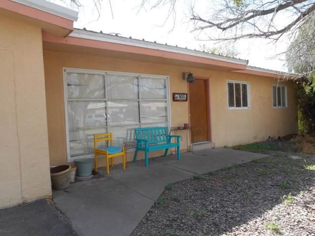 800 Sunset Drive, Socorro, NM 87801 (MLS #955775) :: The Bigelow Team / Red Fox Realty
