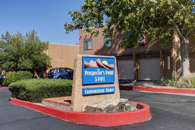 5801 Lowell Street NE 1B, Albuquerque, NM 87111 (MLS #955828) :: Campbell & Campbell Real Estate Services