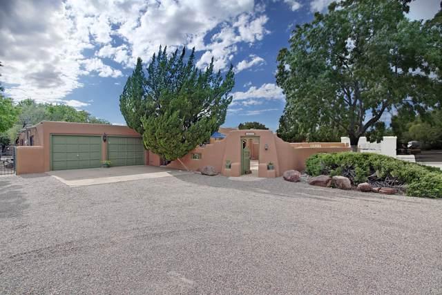 1722 Dietz Loop NW, Los Ranchos, NM 87107 (MLS #955917) :: The Bigelow Team / Red Fox Realty