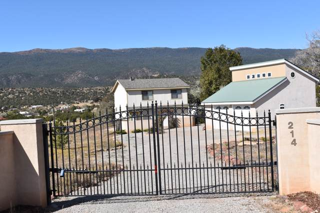 214 Rincon Loop, Tijeras, NM 87059 (MLS #956425) :: Campbell & Campbell Real Estate Services