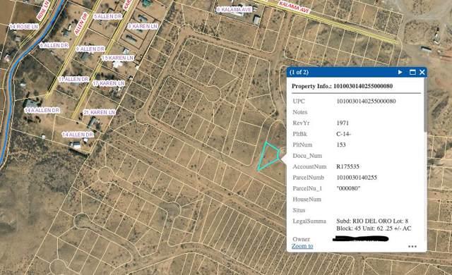 Rio Del Oro Lot 8 Block 45, Los Lunas, NM 87031 (MLS #956463) :: Campbell & Campbell Real Estate Services