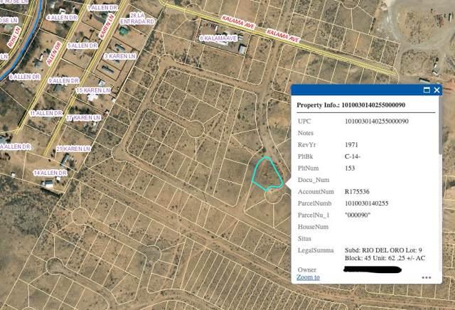 Rio Del Oro Lot 9 Block 45, Los Lunas, NM 87031 (MLS #956464) :: Campbell & Campbell Real Estate Services