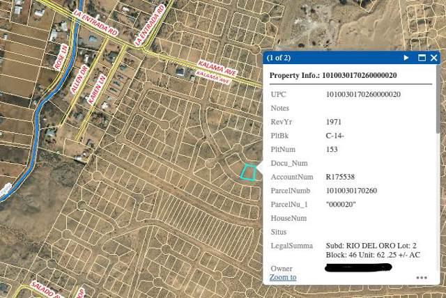 Rio Del Oro Lot 2 Block 46, Los Lunas, NM 87031 (MLS #956466) :: Campbell & Campbell Real Estate Services