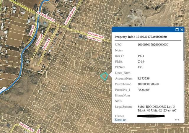 Rio Del Oro Lot 3 Block 46, Los Lunas, NM 87031 (MLS #956468) :: Campbell & Campbell Real Estate Services