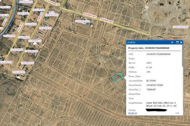 Rio Del Oro Lot 4 Block 46, Los Lunas, NM 87031 (MLS #956469) :: Campbell & Campbell Real Estate Services