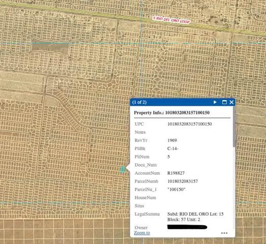 Rio Del Oro Lot 15 Block 57, Los Lunas, NM 87031 (MLS #956470) :: Campbell & Campbell Real Estate Services