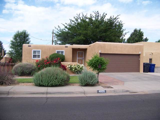 4005 Hilton Place NE, Albuquerque, NM 87111 (MLS #956531) :: Campbell & Campbell Real Estate Services