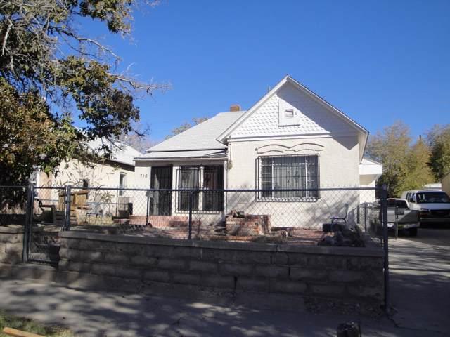 716 Arno Street SE, Albuquerque, NM 87102 (MLS #957424) :: Campbell & Campbell Real Estate Services