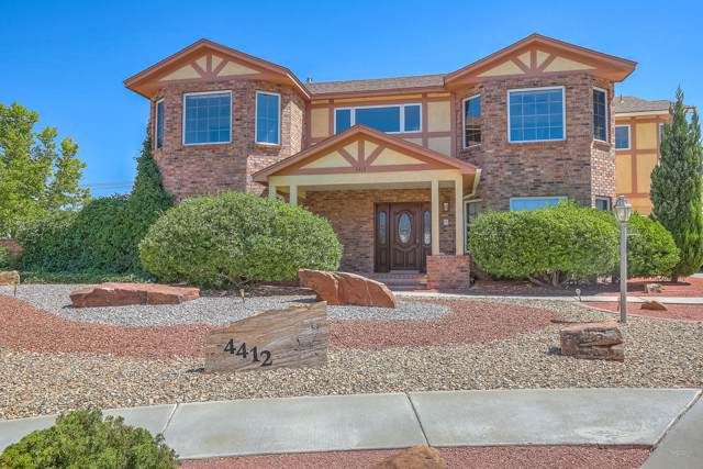 4412 Condesa Court NW, Albuquerque, NM 87114 (MLS #957805) :: The Bigelow Team / Red Fox Realty