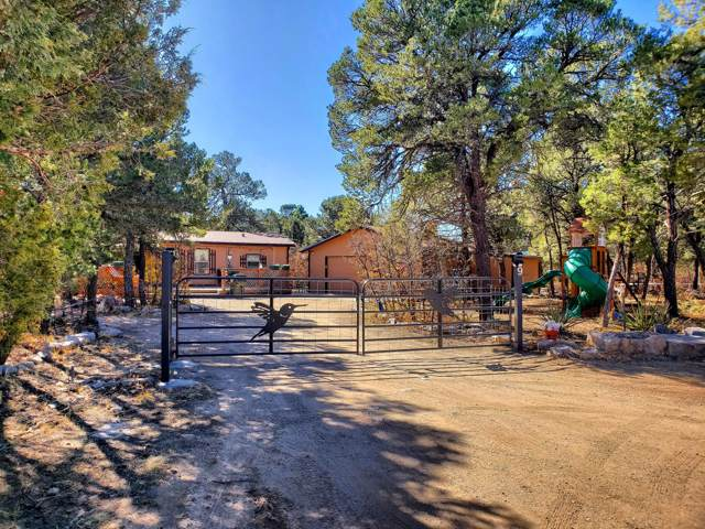 9 Nexus Lane, Tijeras, NM 87059 (MLS #957876) :: Campbell & Campbell Real Estate Services