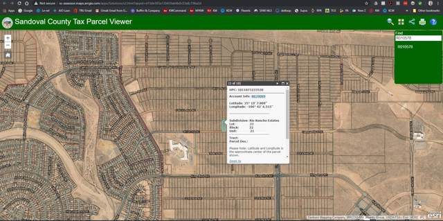 Lot 33 Shiloh Rd NE, Rio Rancho, NM 87144 (MLS #958885) :: Campbell & Campbell Real Estate Services
